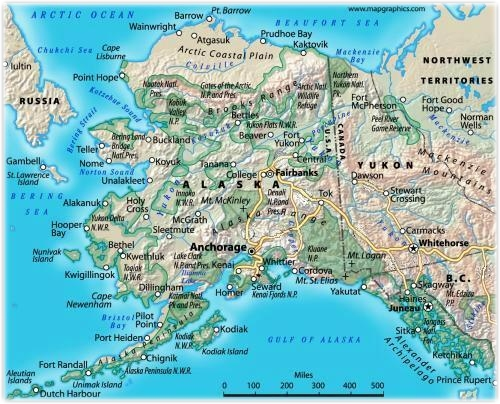 Alaska Highway United States And Canada Building The World - Map of canada and alaska