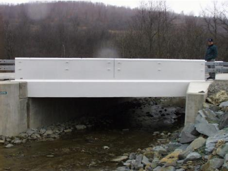 Photo of Route 248 Bridge over Bennetts Creek