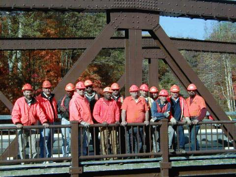 Photo: NYSDOT Region 6 Bridge Maintenance group picture
