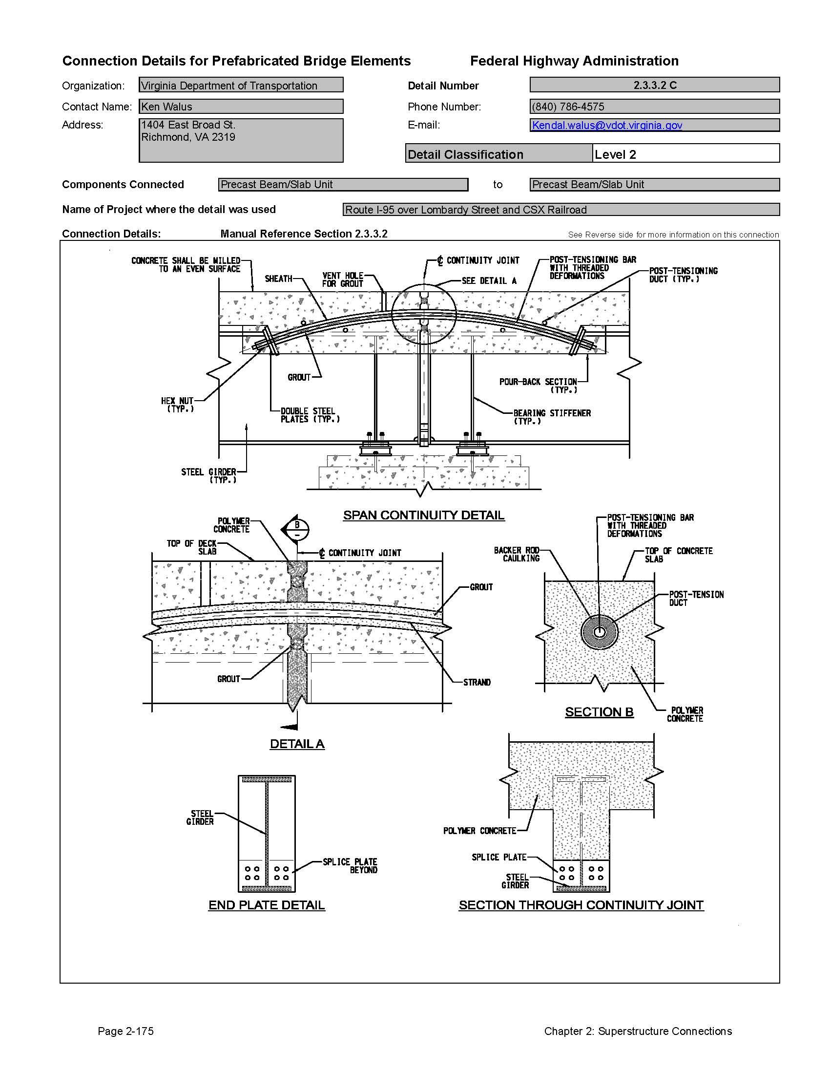 Precast beam slab unit and precast beam slab unit the detail