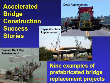 Prefabricated Bridge Elements and Systems Cost Study