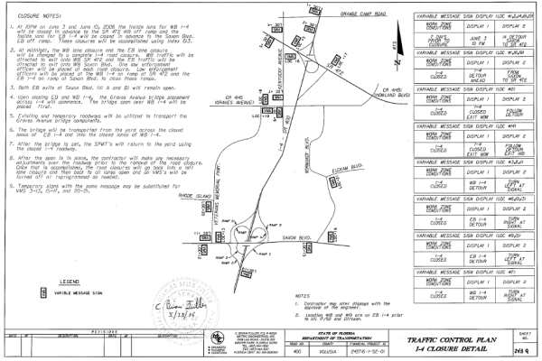 Appendix M Example Plan Sheets For Traffic Control Plans  Hif