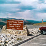 Entrance to the Alpine Visitor Center