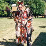 American Indian in Traditional Costume