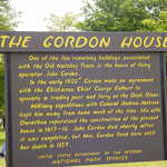 Gordon House Plaque