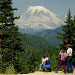 Mount Rainier from the White Pass Scenic Byway