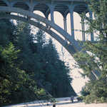 Bridge on Oregon's Pacific Coast