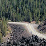 Cycling the Pass on McKenzie Pass - Santiam Pass Scenic Byway