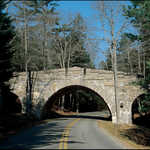 Old Stone Bridge in Acadia