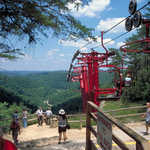 Chairlift in Natural Bridge State Resort Park