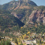View of Ouray from Above