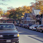 Street in Bar Harbor