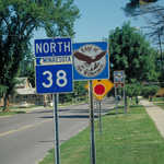 State Highway 38 and Byway Roadsigns