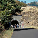 Tunnel on the Historic Columbia River Highway