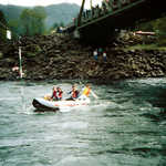 Whitewater Rafting Along West Cascades Scenic Byway