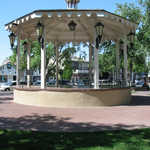 Gazebo on the Plaza in Old Town Albuquerque