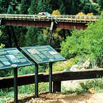 Florence and Cripple Creek Railroad Steel Bridge