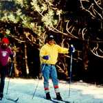 Cross-country Skiing on the Corsair Trail System