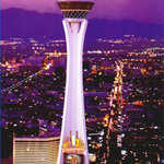 Stratosphere at Nighttime