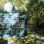 Chalk Bluff Battle Site