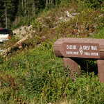Pacific Crest Trail Crossing the White Pass Scenic Byway