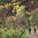 Autumn Biking on the Historic Bluff Country Scenic Byway