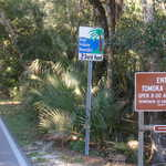 Entering Tomoka State Park Sign