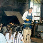 Visitors to Nauvoo Learn all about the Blacksmith's Profession