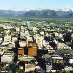 Downtown Anchorage During the Summer