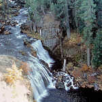 Middle McCloud Falls on the McCloud River