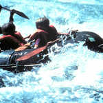 Rafting on the Green River Below Flaming Gorge Dam