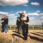 Birders at Wings and Wetlands Festival