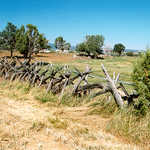 Old Pioneer Fence in Boulder, Utah