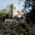 Southwest Museum from Sycamore-Grove Park