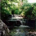 Waterfall at David's Cove Near Historic Nauvoo