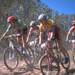 Mountain Bikers on the Billy the Kid Trail