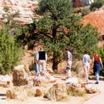 Rock Garden at Escalante State Park.