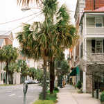 A Quiet Street Scene in Historic Downtown Charleston