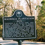 The Magnolia Plantation Sign
