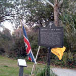 Historical Marker Along the Ashley River