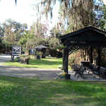 Carriage Ride Waiting Area at Magnolia Plantation