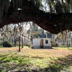 Original Pre-Civil War Cabin at Magnolia Plantation