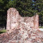 Ruins of the Original Home at Middleton Place
