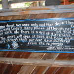 Decorated Aphorism Sign at Tinkertown Museum