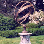 Sundial Garden at Winterthur
