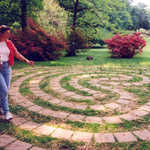 Enchanted Woods' Fairy Flower Labyrinth at Winterthur