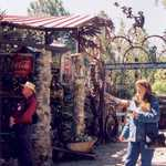 Visitors at Tinkertown Museum, New Mexico