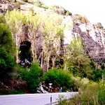 Logan Cave from the Road