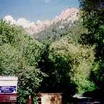 Preston Campground in Logan Canyon