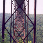 New River Gorge Bridge Spans
